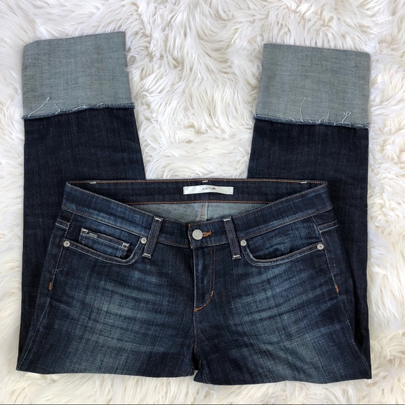 Joe's Jeans Denim - Joe's Jeans Cropped Cuff Hem Jean 🌛